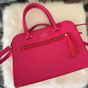 Hot Pink Kate Spade Satchel Handbag